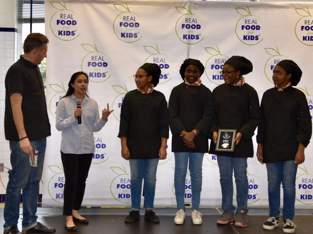 Tasty: Takoma Park Middle School Wins, Puts Healthy Food On Area School Menus